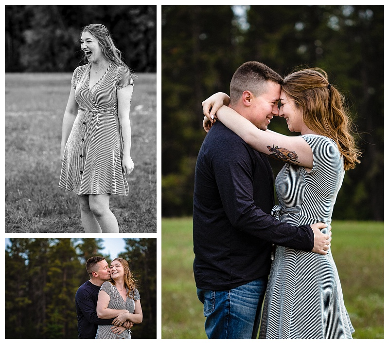 Bailey and Brett - Engagement Session at Bird's Hill Park